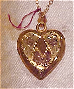 10k gold filled heart locket (Image1)
