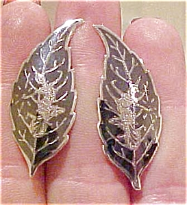 Siam sterling silver earrings (Image1)