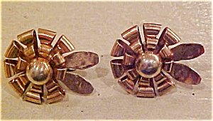 Retro earrings - 1940s (Image1)