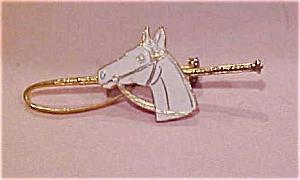 Enamel horse pin (Image1)