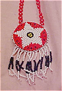 Native American beaded necklace (Image1)