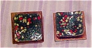 Matisse copper and enamel earrings (Image1)