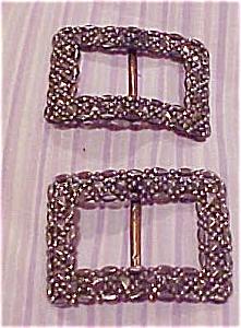 Victorian steel cut buckles (Image1)