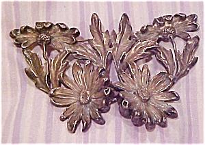 Kerr art nouveau floral brooch (Image1)