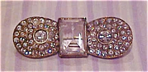 Czechoslovakian rhinestone pin (Image1)