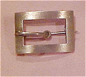 Victorian sterling buckle pin (Image1)