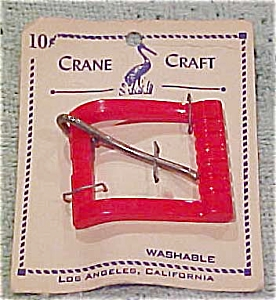 Crane Craft plastic buckle (Image1)