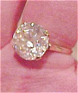 Cubic Zirconia ring (Image1)