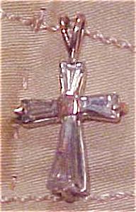 Cubic Zirconia cross (Image1)