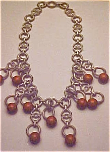 Celluloid and bakelite necklace (Image1)