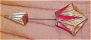 Art deco celluloid pin (Image1)