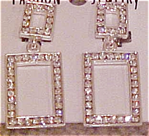 Contemporary rhinestone earrings (Image1)