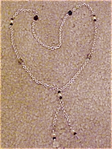 Lariat Style Sterling Necklace