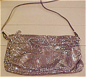 Whiting & Davis silver mesh purse (Image1)