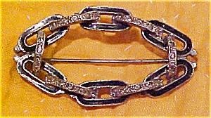 Art deco pot metal pin (Image1)