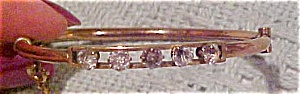 Victorian bangle with rhinestones (Image1)