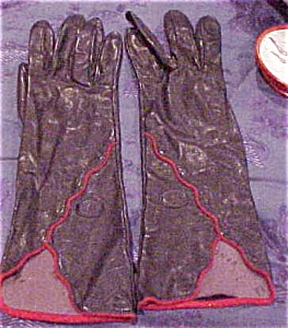 Fendi leather gloves (Image1)
