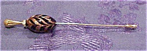 Hat Pin With Murano Glass