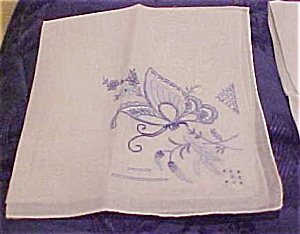 Handkerchief with butterfly (Image1)