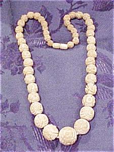 Ivory bead necklace (Image1)