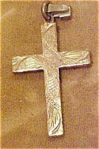 Brass cross charm (Image1)