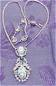 Hollycraft rhinestone necklace (Image1)