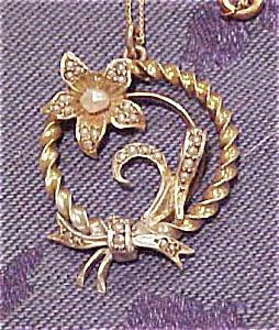 Art nouveau revival necklace (Image1)