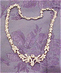 1930s necklace with rhinestones (Image1)