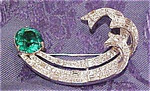 Halbe rhinestone pin (Image1)