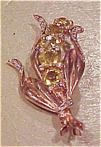 Reja sterling vermeil brooch (Image1)