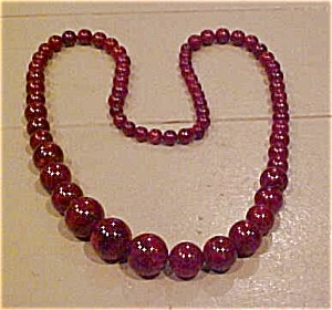 Bakelite bead necklace (Image1)