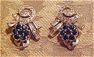 Weiss Retro design earrings (Image1)