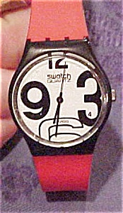Swatch watch - B83 - Big Numbers! (Image1)