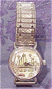 1980s watch with car design (Image1)