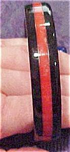 Striped plastic bangle (Image1)