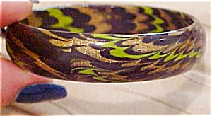 Laminated wood bangle (Image1)