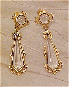 Etruscan revival style earrings (Image1)