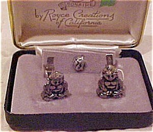 Royce Creations cufflinks and tie tack (Image1)
