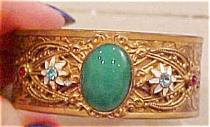 Czechoslovakian Cuff With Enameling