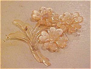 Plastic flower pin (Image1)