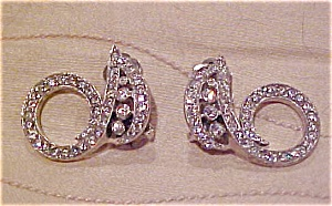 Jomaz Rhinestone earrings (Image1)