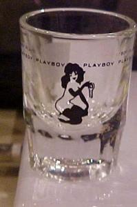 Playboy Femlin shot glass (Image1)