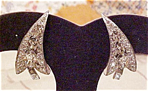 Eisenberg rhinestone earrings (Image1)