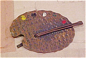 Copper palette design pin (Image1)