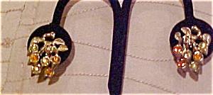 Coro Rhinestone earrings (Image1)