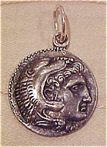 Pot metal coin charm (Image1)