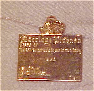Marriage license charm (Image1)
