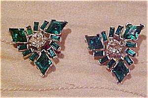 Rhinestone earrings (Image1)