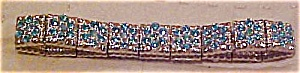 Contemporary stretch rhinestone bracelet (Image1)