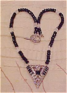 Art deco pendant necklace (Image1)